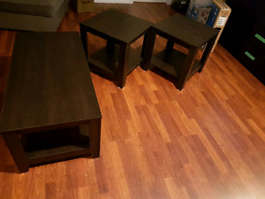 Coffee table and 2 end tables- west kelowna