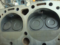 3884520 327 283 factory  sbc chevy cylinder heads only 20 min