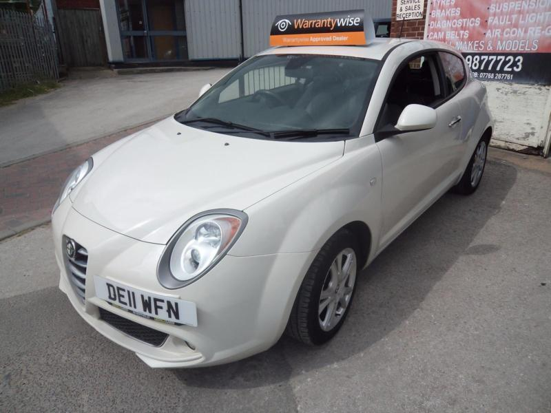 alfa romeo mito 1 4 16v sprint sports hatch in white warranty finance available in carlton. Black Bedroom Furniture Sets. Home Design Ideas