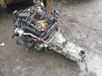 Transit engine and 6 speed box 2006 model 2.4 135 complete £600