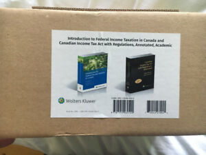 TEXTBOOKS - Canadian Income Tax Act w Regulations - 104th Ed