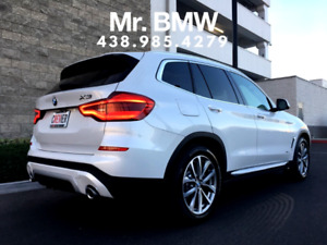 2018 BMW X3 - $750/Month / TAX IN / 45 Months / $0 Down