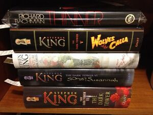 STEPHEN KING books...first editions available