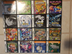 Lots of Nintendo ds games