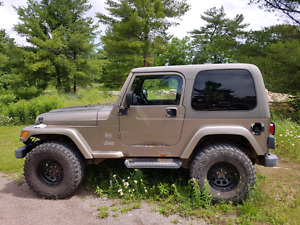 Lifted 2003 Jeep Sahara