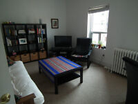 One bedroom in great two bedroom apt available