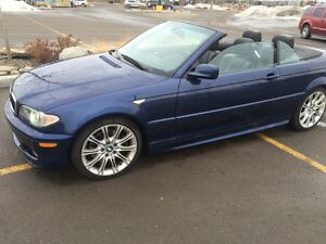 2004 BMW 330ci Convertible M package 6spd