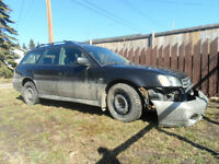 2002 subaru lagecy outback for sale front end damage
