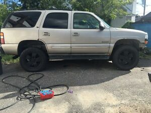 2000 chev tahoe 4000$ or try your trades