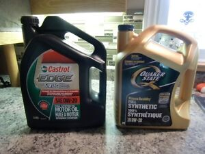 Synthetic Motor Oil SAE 0W-20
