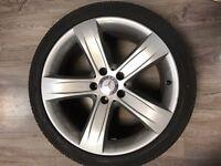 Original Mercedes alloy wheels R18