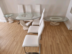 Dining Table, Chairs, Centre Table, Side Stool