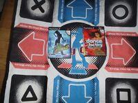 2 tapis de danse playstation 2 avec jeux