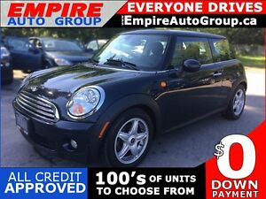 2007 MINI COOPER LEATHER * PANORAMIC SUNROOF * EXTRA CLEAN