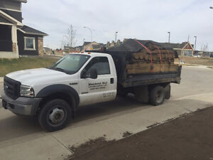 Dump truck for hire - spring clean up