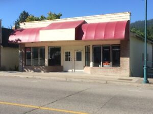 For Rent Commercial Space Dowtown Castlegar
