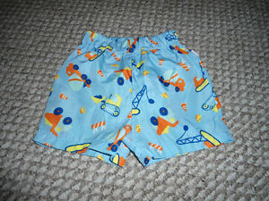 BOYS i play swimming trunks with built in diaper - 12 months