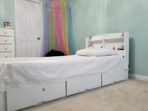 Kid's Single Bed and Chest