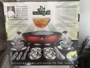 "Nutri Grill.    ""AS SEEN ON TV"""