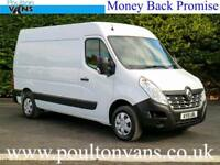 2015 (15) RENAULT MASTER MM35 BUSINESS + L2H2 MWB MEDIUM ROOF PANEL VAN
