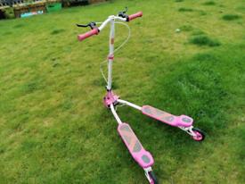 Pink Tri Glider Scissor Scooter