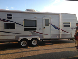 27' Jayco trailer with bunks
