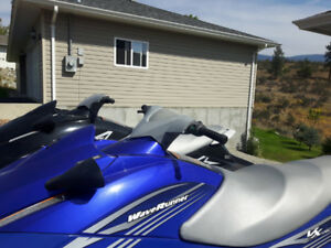 2 - 2010 yamaha vx deluxe waverunners. Very low hrs