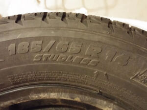 MICHELIN WINTER TIRES WITH RIMS
