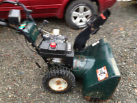 Sears craftsmen 11hp snowblower