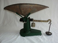 Antique 25 lbs. Scale (B.S.&M. Made in Canada)