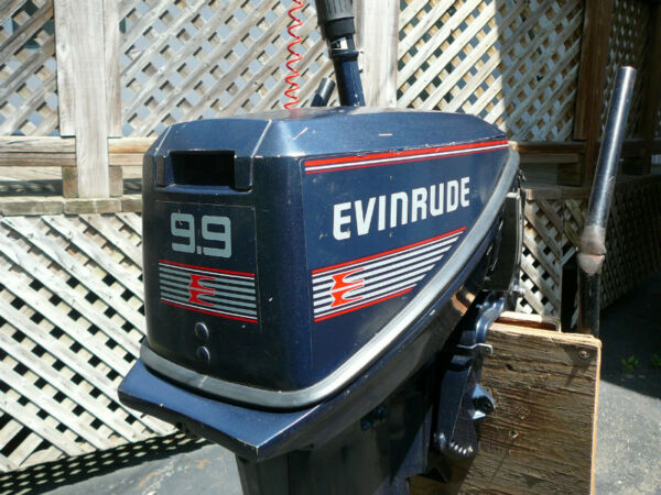 Used 1989 Evinrude 9.9 hp 2 temps