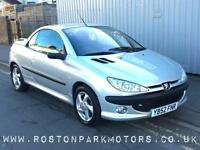 2003 PEUGEOT 206 1.6 S new MOT convertible