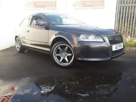 2008 58 AUDI A3 1.6 3 DOOR FACELIFT,FINANCE AVAILABLE,GREAT LOOKING CAR.FULL SH.