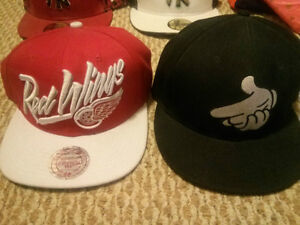 Men's Snapback / Fitted Hats Yankees, Crooks & Castles, Wings