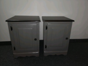Solid wood nightstand / end tables