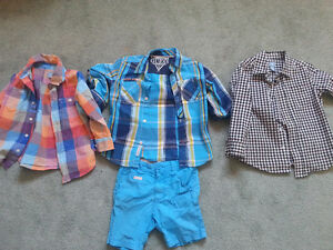 Summer clothes for boys size 4/5 t