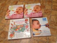 Baby weaning cook books