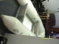 trolling motor and zray 400 II w/ aluminium floor