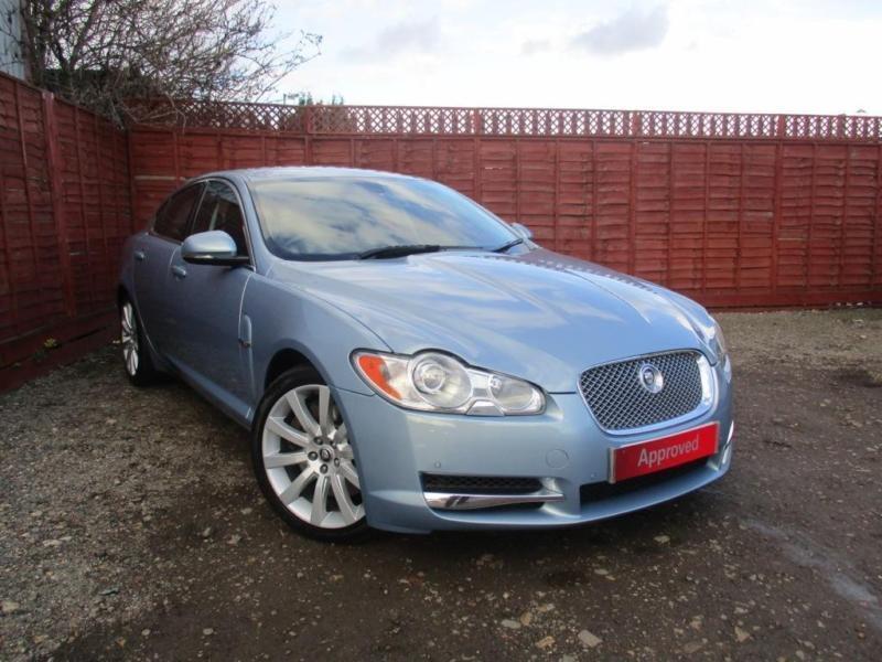 2009 jaguar xf premium luxury v6 auto diesel blue automatic in peterborough cambridgeshire. Black Bedroom Furniture Sets. Home Design Ideas