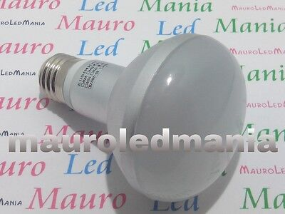 E27 Lampada LED R80 Riflettore Diametro 80mm 15W=150W 220V Bianco Caldo 3500K