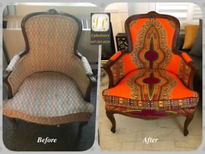 ** Reupholster services **