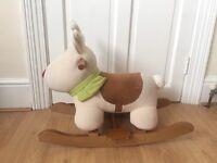 Rocking reindeer for toddler