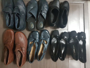 Wholesale lot of 40 Pairs Brand new Brand Name Shoes Clarks Polo