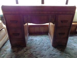 1940's Mid Century Desk/Vanity