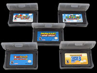 Jeux Game Boy Super Mario Advance 1 2 3 4 Mario Kart Circuit