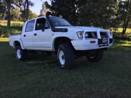 2002 Toyota Hilux (6 MONTH FRESH REGO-12 MONTH FREE WARRANTY-RWC)