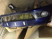Golf mk6 gt tdi front bumper complete with fogs and grills