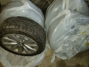 BMW 3 Series Winter RunFlat Tires, Rims more than *75%*  & Mats