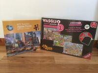 2 Brand New Jigsaw Puzzles