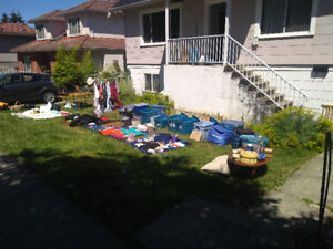 Moving Sale Yard Sale